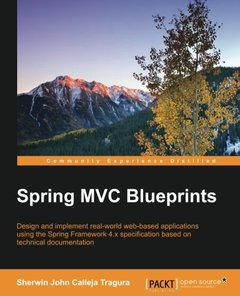 Spring MVC Blueprints(Paperback)-cover