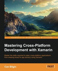 Mastering Cross-Platform Development with Xamarin(Paperback)-cover