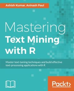Mastering Text Mining with R(Paperback)-cover
