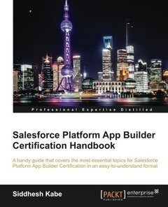 Force.Com Developer Certification Handbook (DEV401), 2/e(Paperback)-cover