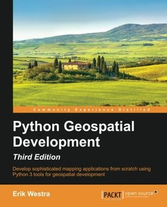 Python GeoSpatial Development, 3/e(Paperback)-cover