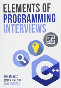 Elements of Programming Interviews: The Insider's Guide 2/e ( Paperback)-cover