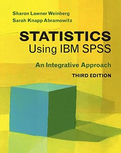 Statistics Using IBM SPSS: An Integrative Approach 3/e(Paperback)-cover