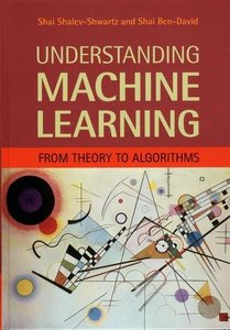 Understanding Machine Learning: From Theory to Algorithms (Hardcover)-cover