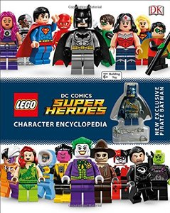 LEGO DC Comics Super Heroes Character Encyclopedia (Hardcover)-cover