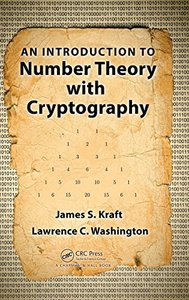 An Introduction to Number Theory with Cryptography (Hardcover)-cover