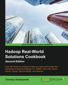 Hadoop RealWorld Solutions Cookbook  Second Edition-cover