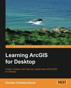 Learning ArcGIS for Desktop-cover