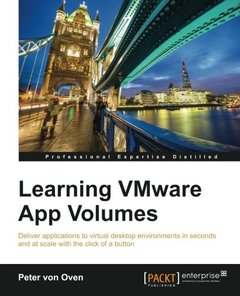 Learning VMware App Volumes-cover