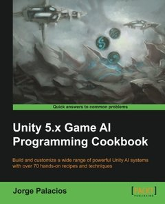 Unity 5.x Game AI Programming Cookbook-cover