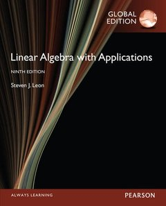 Linear Algebra : with Applications, 9/e (IE-Paperback)-cover