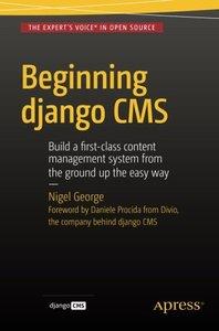 Beginning Django CMS-cover