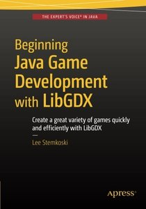 Beginning Java Game Development with LibGDX-cover