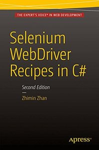 Selenium WebDriver Recipes in C#: Second Edition-cover