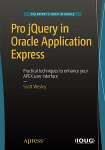 Pro jQuery in Oracle Application Express-cover