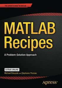 MATLAB Recipes: A Problem-Solution Approach-cover