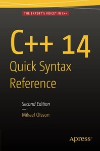 C++ 14 Quick Syntax Reference: Second Edition-cover