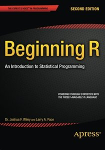 Beginning R: An Introduction to Statistical Programming-cover