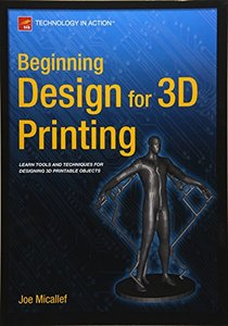 Beginning Design for 3D Printing-cover