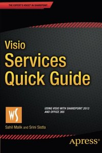 Visio Services Quick Guide: Using Visio with SharePoint 2013 and Office 365-cover