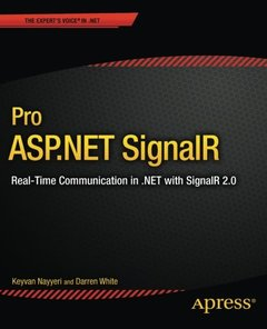 Pro ASP.NET SignalR: Real-Time Communication in .NET with SignalR 2.1-cover