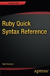 Ruby Quick Syntax Reference-cover