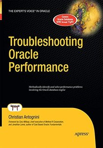 Troubleshooting Oracle Performance-cover