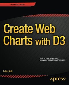 Create Web Charts with D3 (Paperback)-cover
