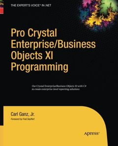 Pro Crystal Enterprise / BusinessObjects XI Programming-cover