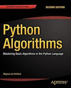 Python Algorithms: Mastering Basic Algorithms in the Python Language-cover