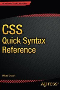 CSS Quick Syntax Reference-cover