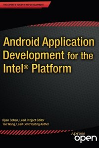Android Application Development for the Intel Platform-cover