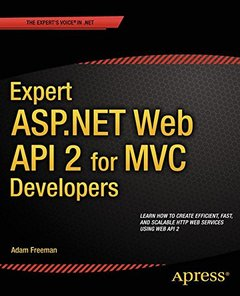 Expert ASP.NET Web API 2 for MVC Developers-cover