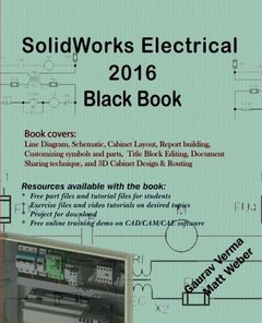 SolidWorks Electrical 2016 Black Book-cover