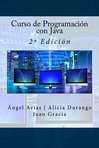 Curso de Programación con Java: 2ª Edición (Spanish Edition)-cover