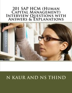 201 SAP HCM (Human Capital Management) Interview Questions with Answers & Explanations-cover