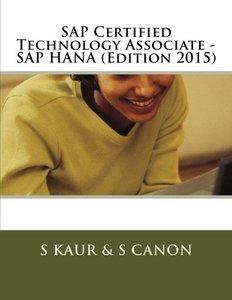SAP Certified Technology Associate - SAP HANA (Edition 2015)-cover