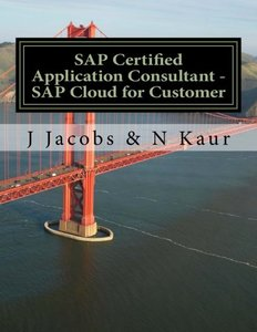 SAP Certified Application Consultant - SAP Cloud for Customer-cover