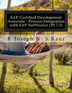 SAP Certified Development Associate - Process Integration with SAP NetWeaver (PI 7.3)-cover