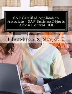 SAP Certified Application Associate -  SAP BusinessObjects Access Control 10.0-cover