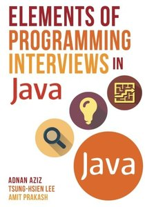 Elements of Programming Interviews in Java ( 2/e)-cover