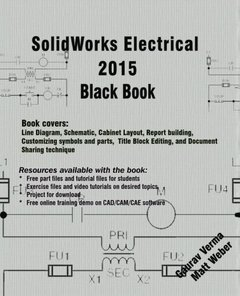 SolidWorks Electrical 2015 Black Book-cover