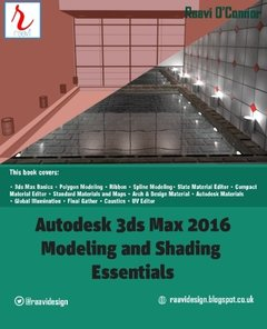 Autodesk 3ds Max 2016 - Modeling and Shading Essentials-cover