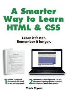 A Smarter Way to Learn HTML & CSS: Learn it faster. Remember it longer. (Volume 2)-cover