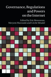 Governance, Regulation and Powers on the Internet-cover