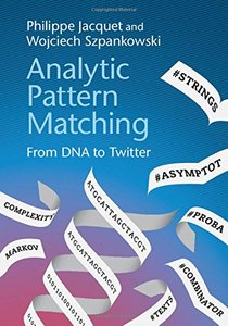 Analytic Pattern Matching: From DNA to Twitter-cover