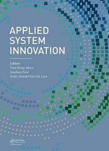Applied System Innovation: Proceedings of the 2015 International Conference on Applied System Innovation (ICASI 2015), May 22-27, 2015, Osaka, Japan-cover