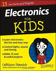 Electronics For Kids For Dummies-cover