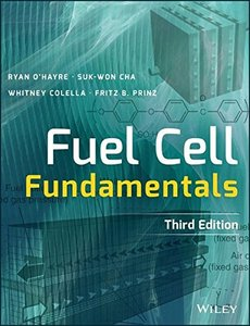 Fuel Cell Fundamentals (Hardcover) 3/e-cover