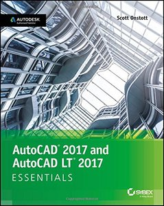 AutoCAD 2017 and AutoCAD LT 2017 Essentials-cover